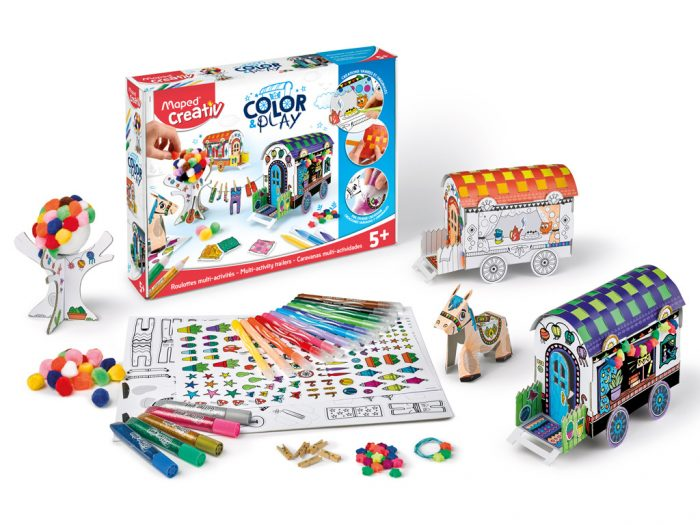 Meisterduskomplekt Maped Creativ Color&Play Design my Carriages - 1/4