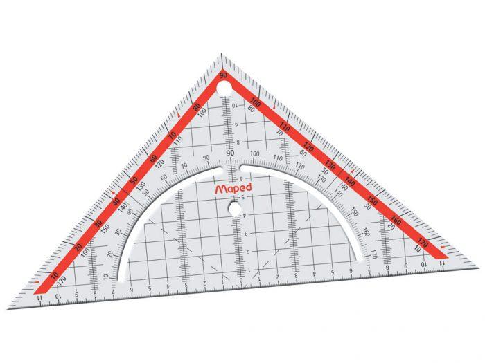 Geometric set square Technic